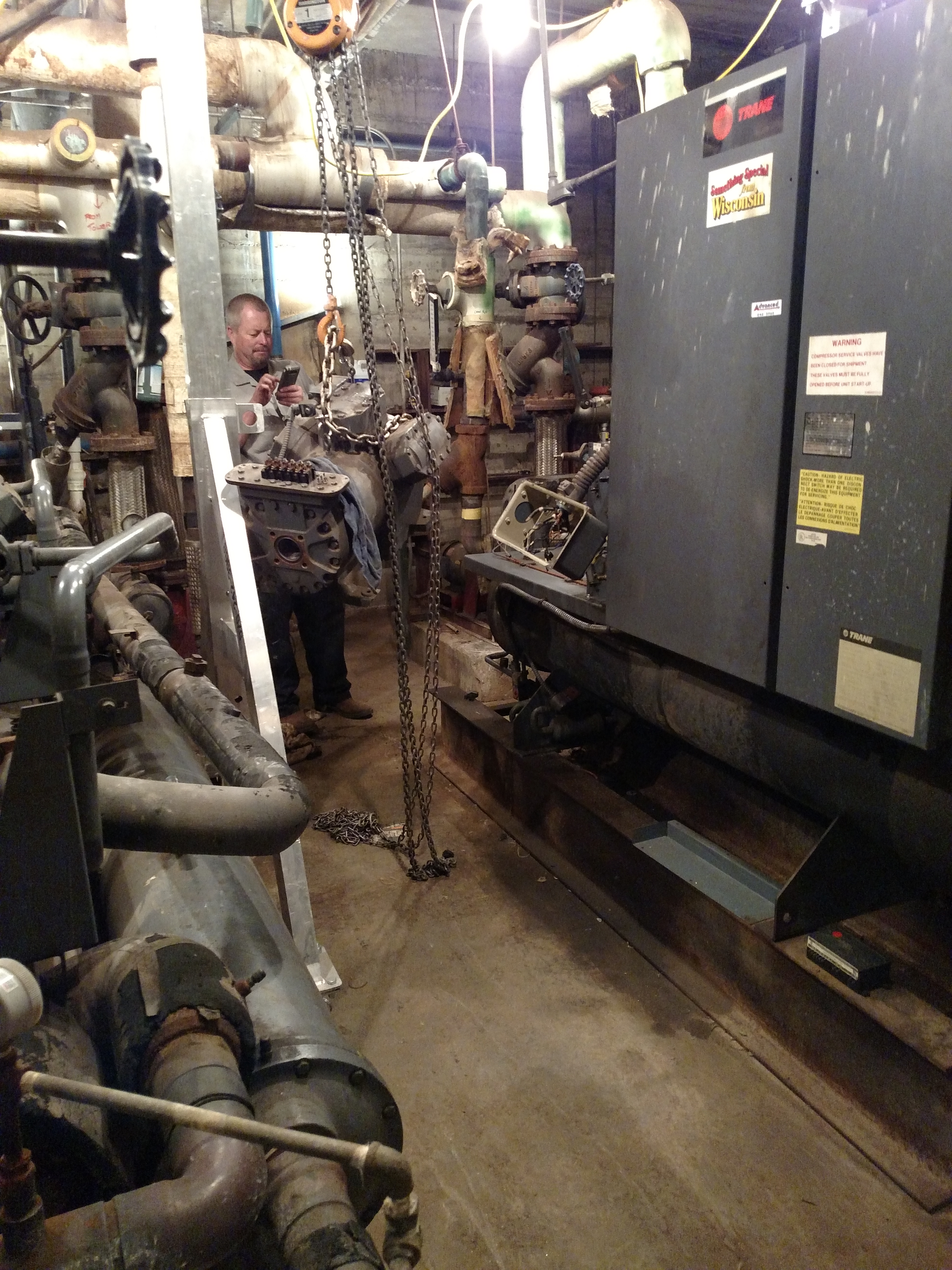 Chiller Compressor Replacement