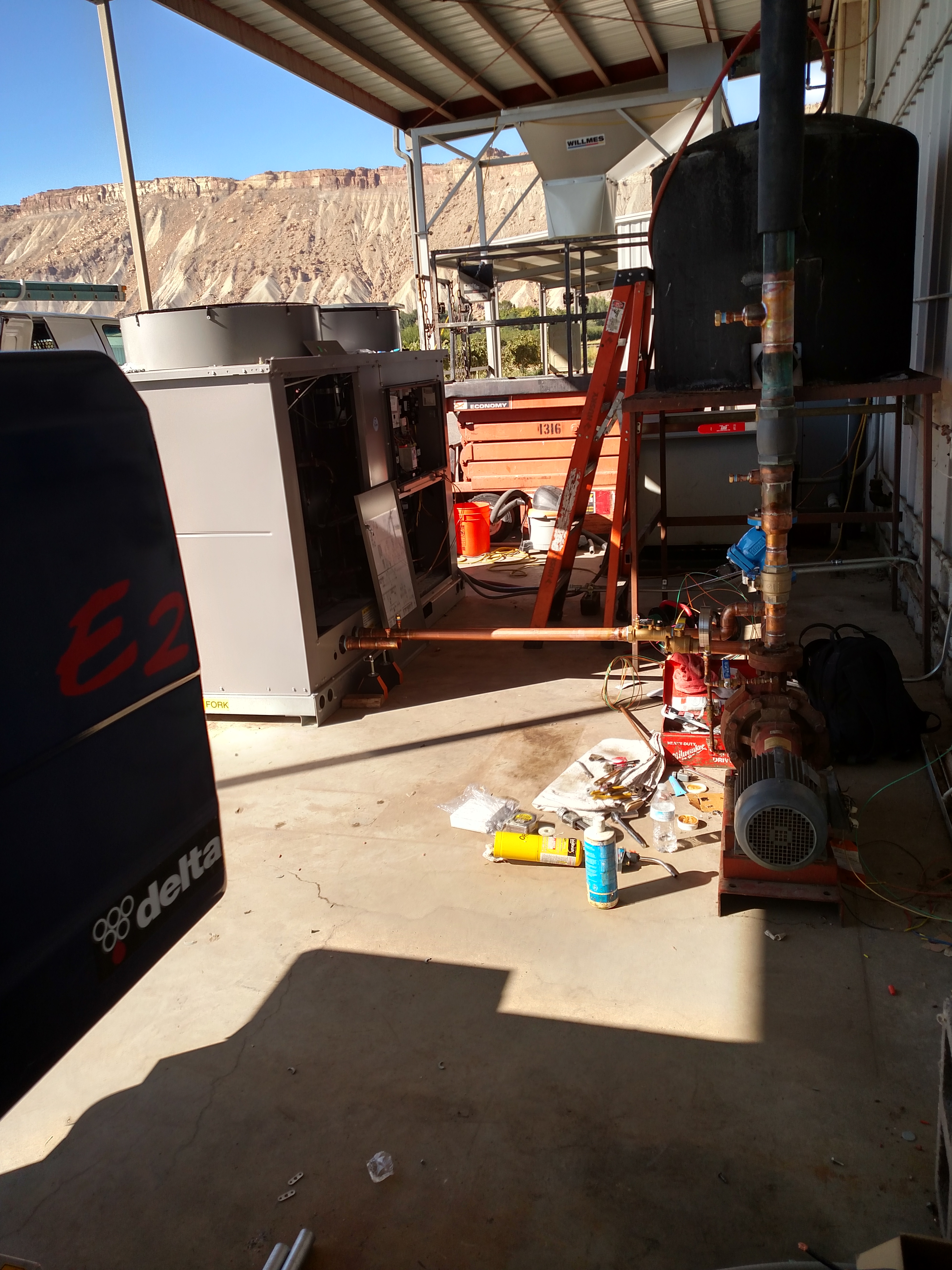Plum Creek Winery Chiller Replacement