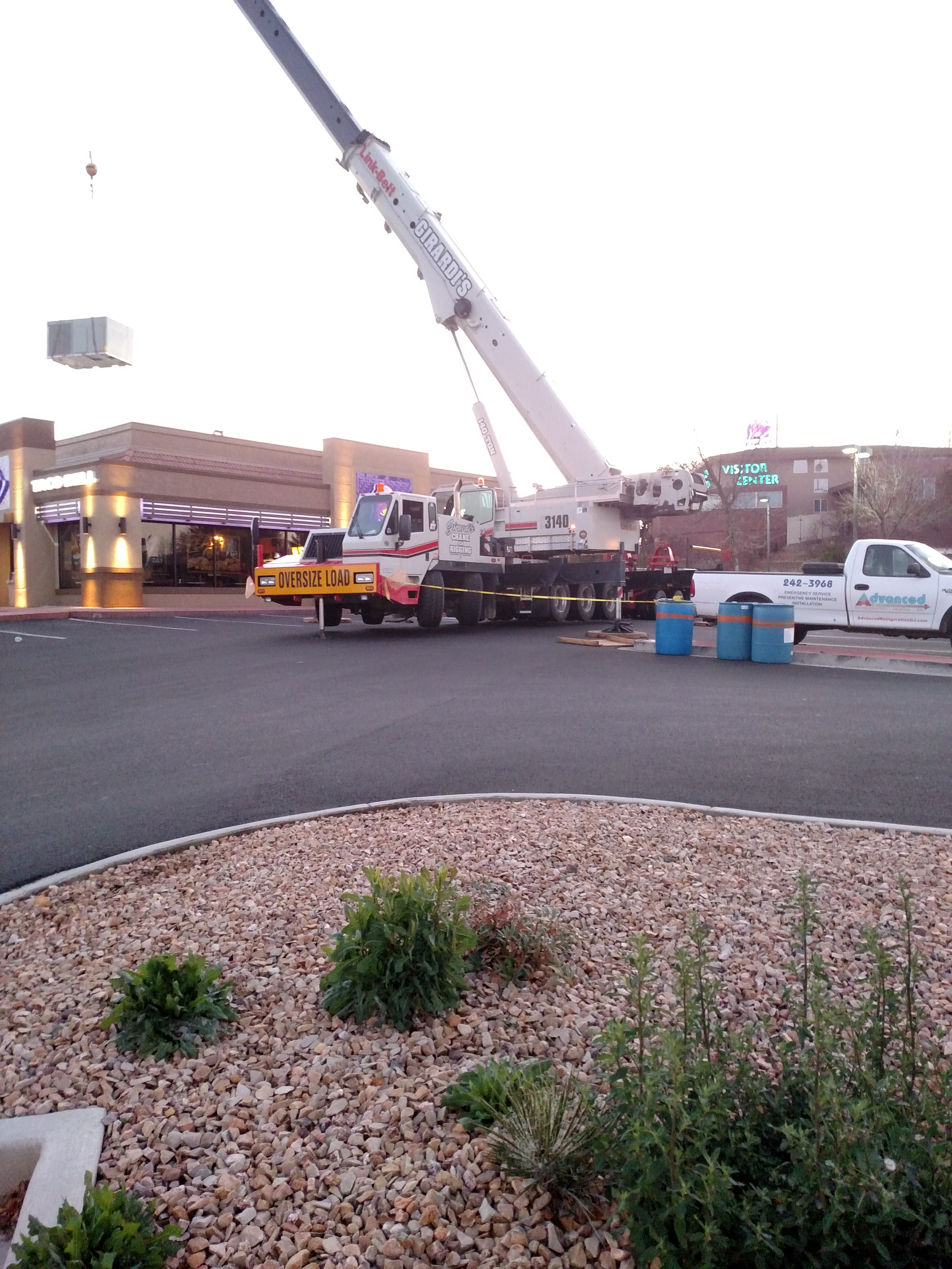 Taco Bell Horizon Drive Rooftop Unit Replacements